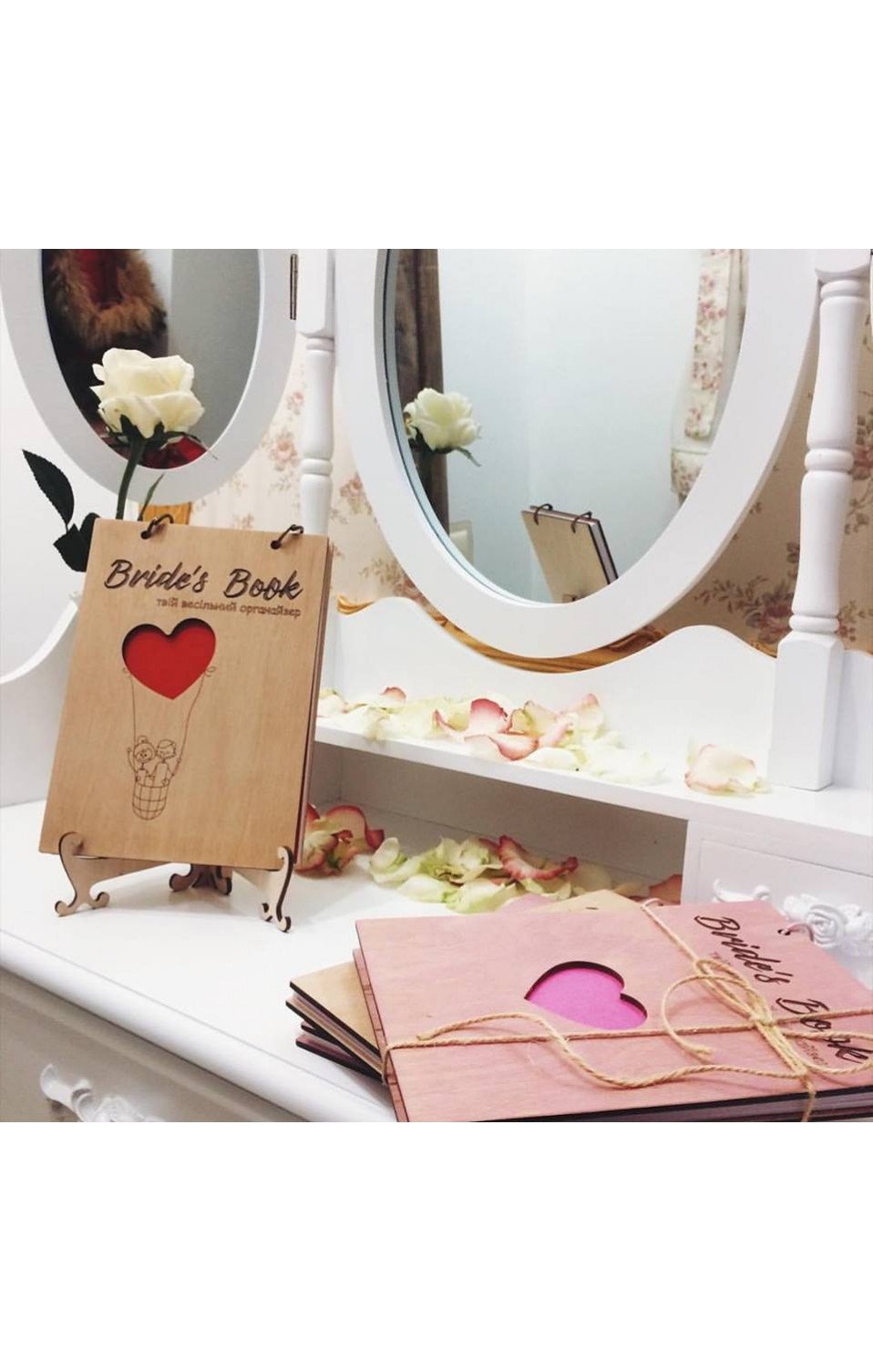 Bride`s book balloon Eco